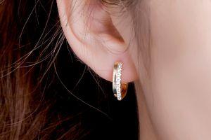 Boucles d'oreilles avec zirconias de Di Lusso