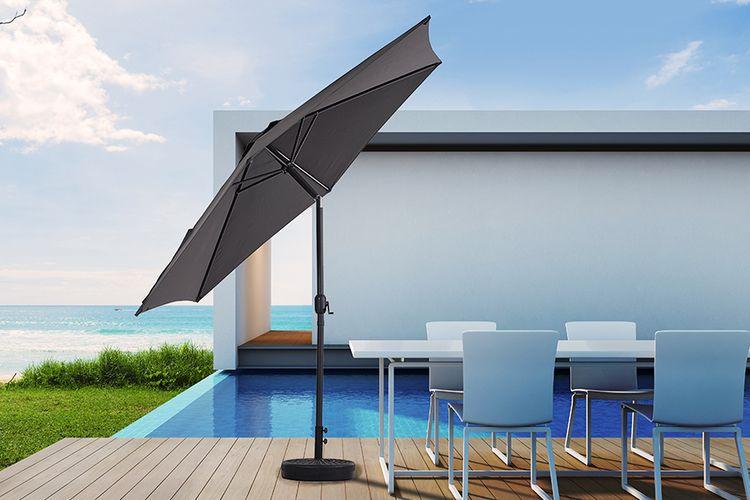 Parasol met kantelsysteem van Feel Furniture (Ø 300 cm)