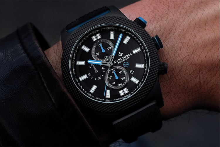 Limited edition Blackhawk herenhorloge van Alpha Sierra