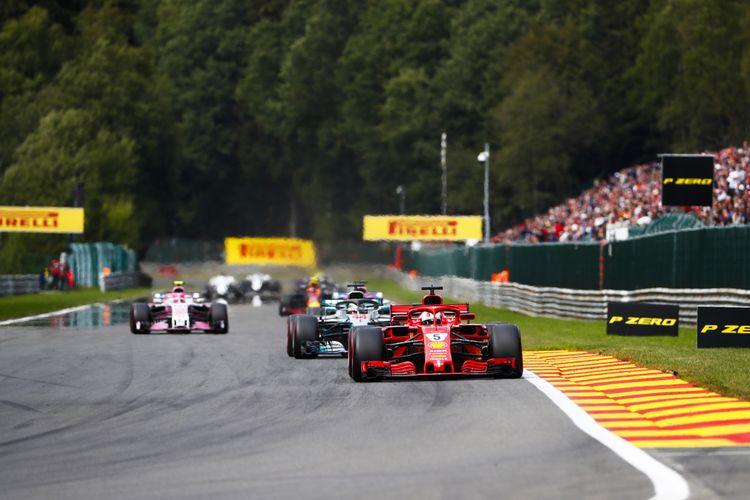 2 tickets voor de Formule 1 GP kwalificatie in Belgi�
