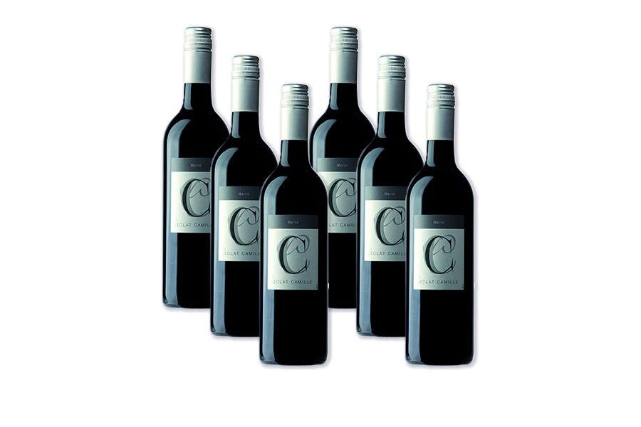 6 flessen Elcat Camile merlot (750 ml)