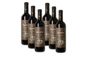 6 bouteilles de vin rouge : Anciano Clasico Garnacha
