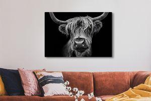 Schotse Hooglanders op canvas 60 x 40 cm (81 varianten)