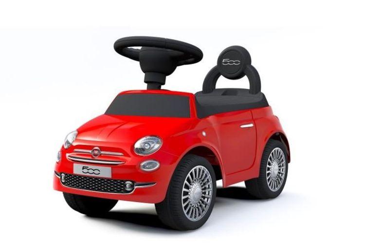Fiat 500 loopauto (rood)