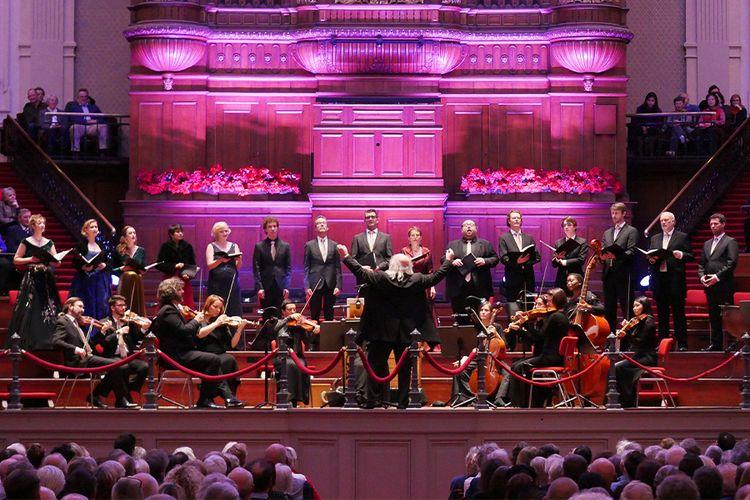 H�ndels Messiah - 2e paasdag in Het Concertgebouw (2 p.)