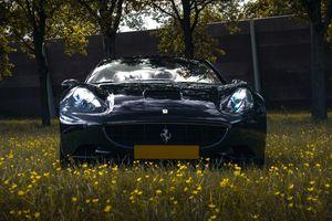Een ritje in een Ferrari California