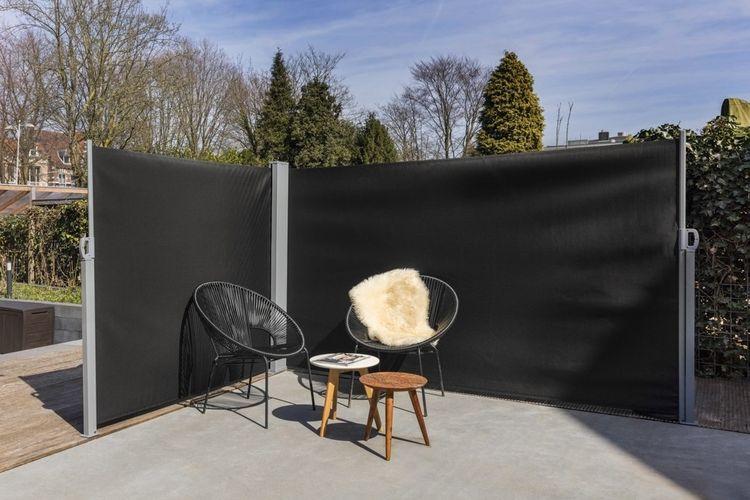 Dubbel windscherm van Lifa Garden (totaal 6 m breed)