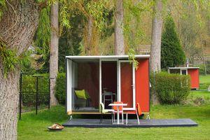 Najaar 2021: verblijf in een lodge in de Ardennen (4 p.)