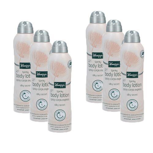 6 flessen bodylotion-spray