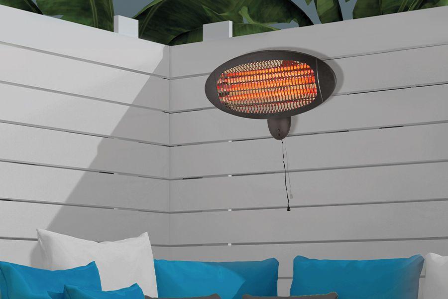 Terrasverwarmer van Excellent Electronics (2.000 W)