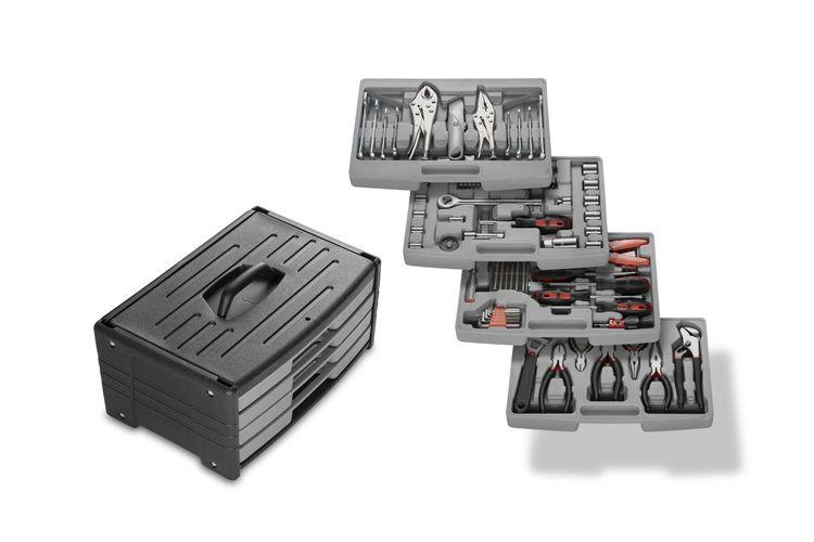 105-delige gereedschapskoffer van Wolfgang