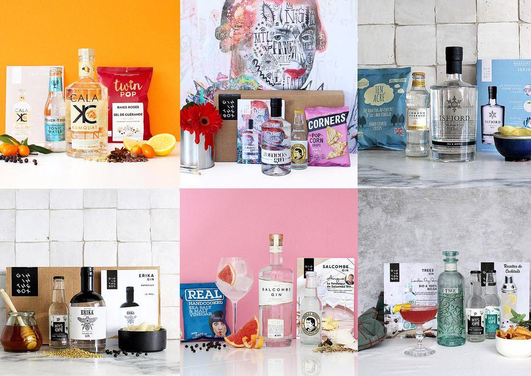 Gin ontdekkingsbox van Gin In The Box aan huis geleverd