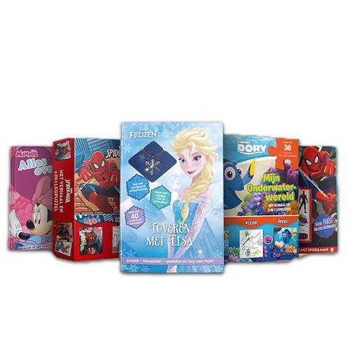 10 activiteitenboeken/boxen van Disney en Marvel