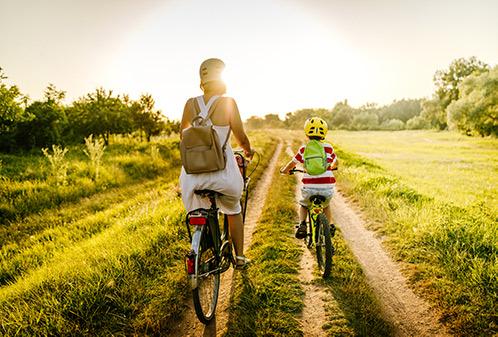 Uitje in coronatijd: pak de fiets