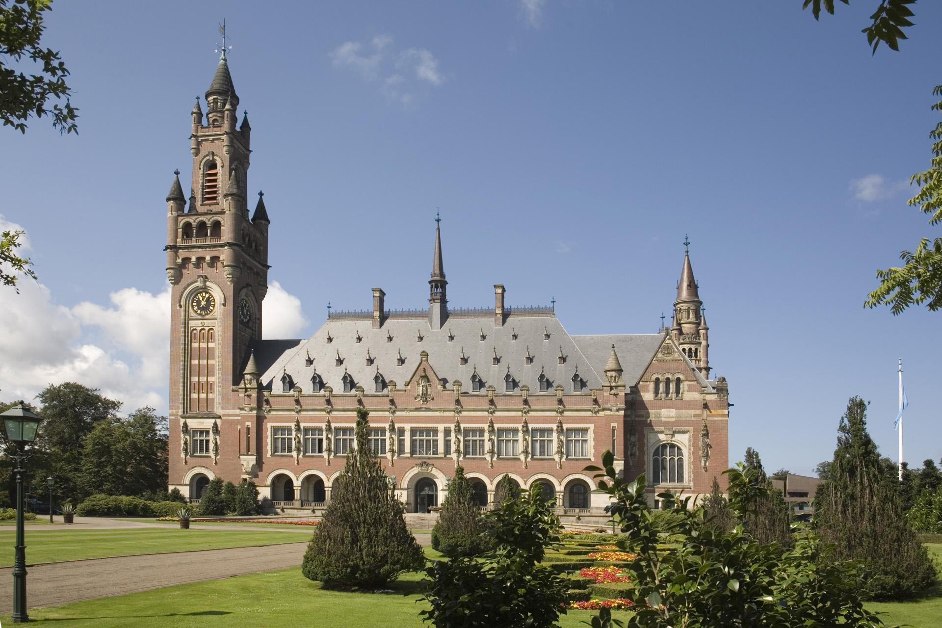 Dagje uit Den Haag Vredespaleis