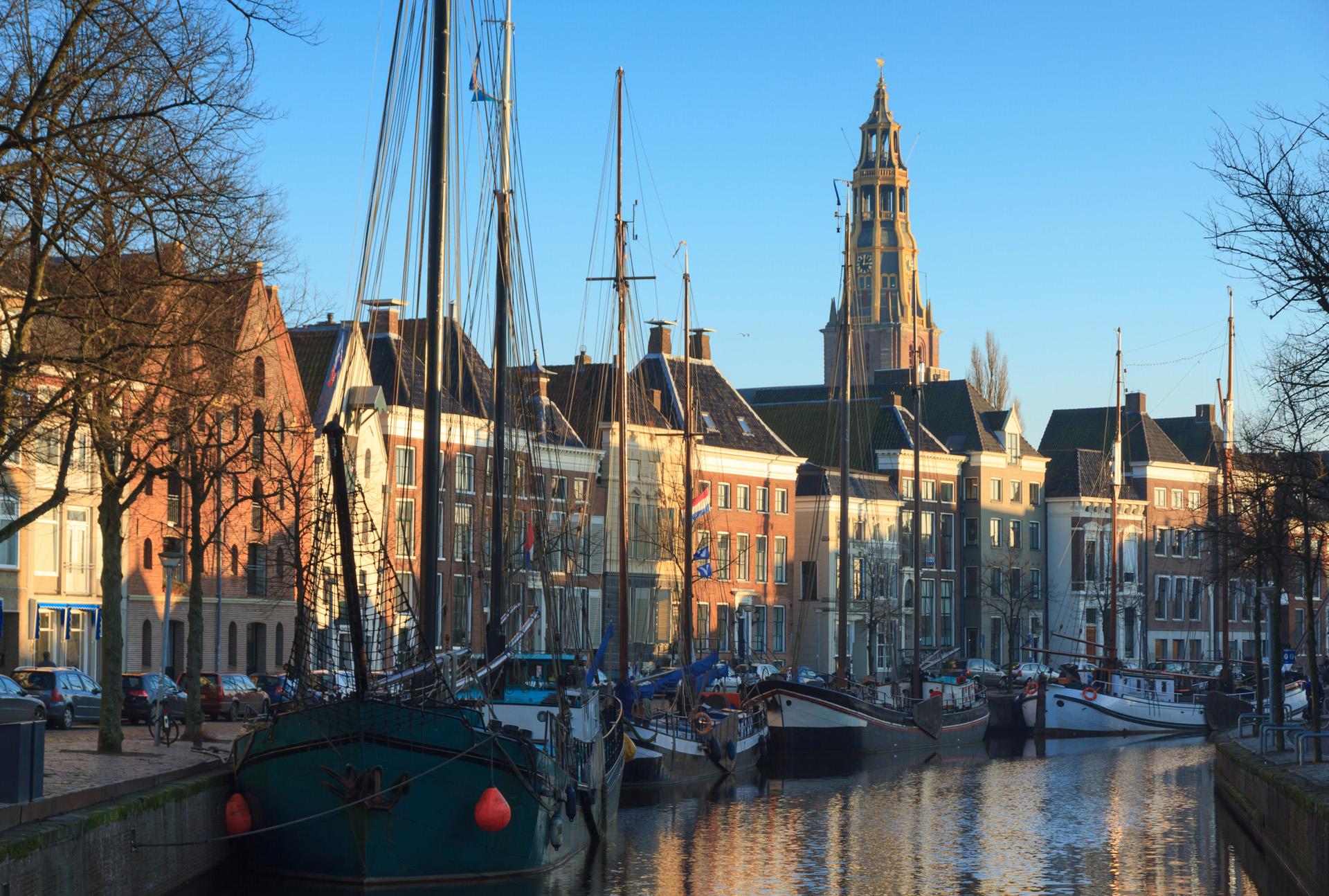 Dagje uit Groningen stad