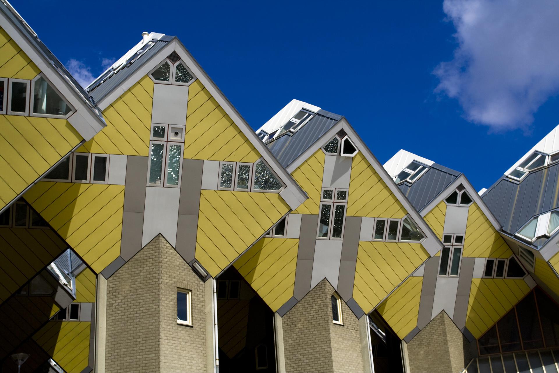 Rotterdam dagje uit kubus-woningen