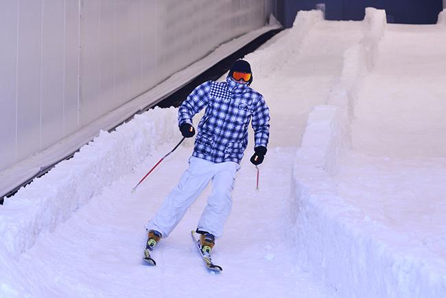 Indoor uitje: skihal