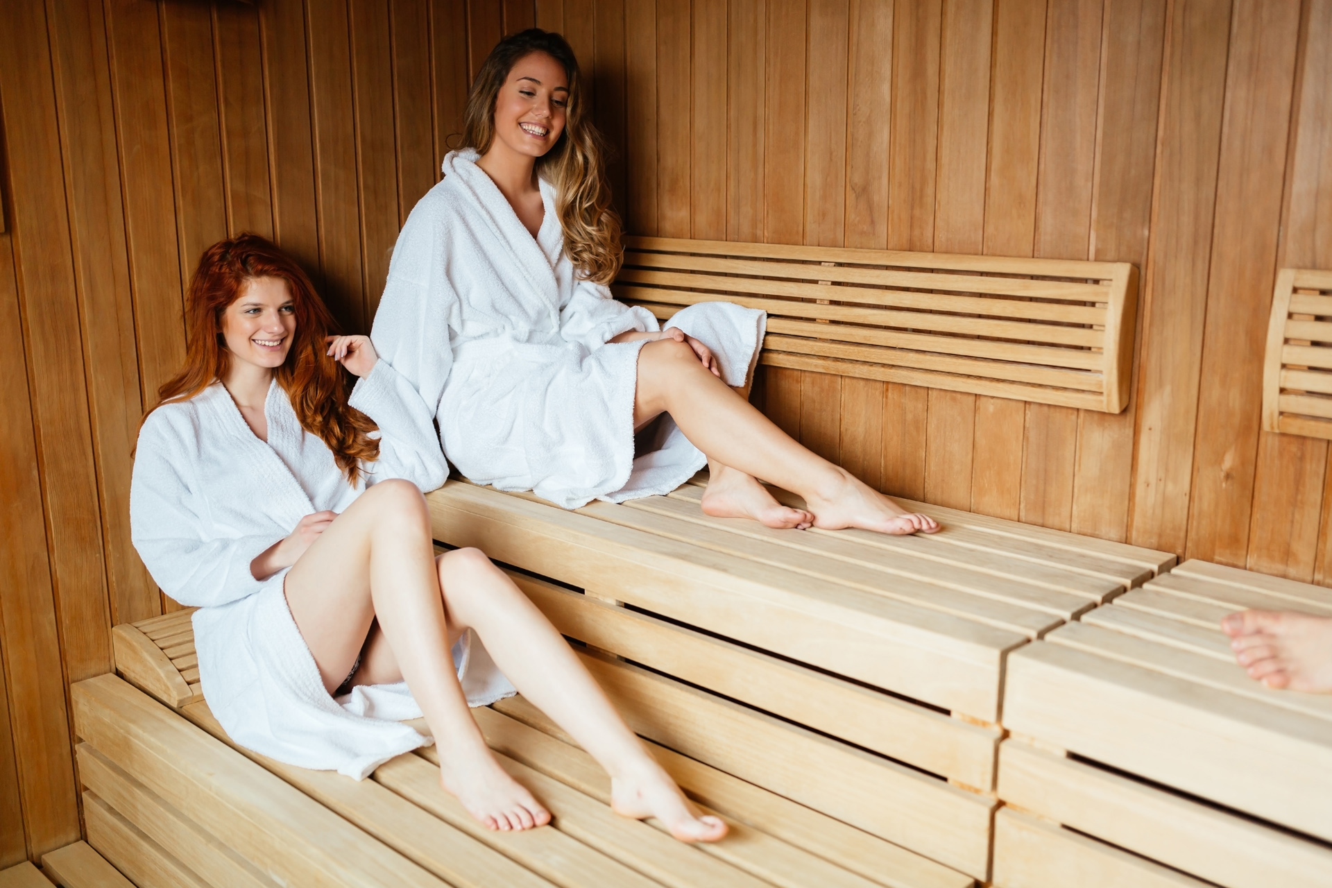 Sauna Friesland badjas