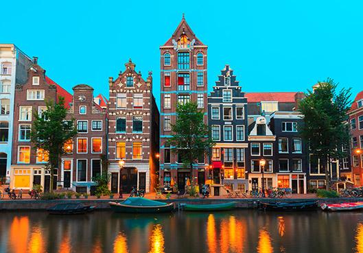 Mooie stad in Nederland: Amsterdam
