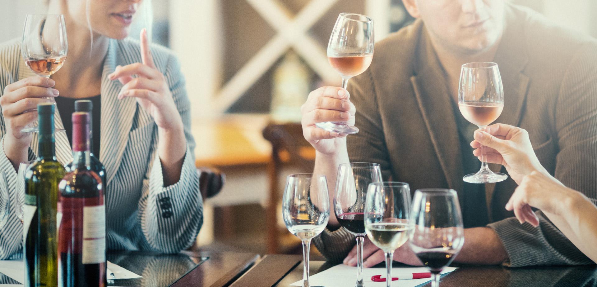 Vriendendag wijnproeverij