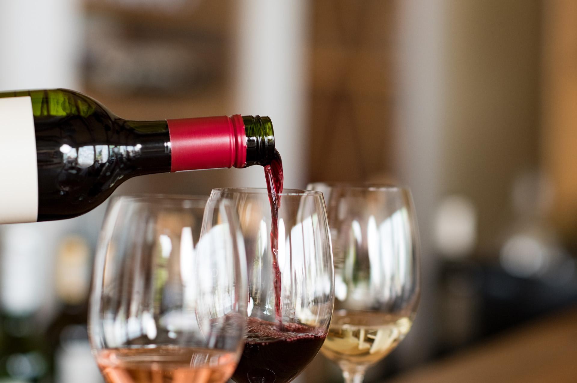 Vrijgezellenfeest high wine