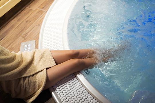 wellness resort uitjes bubbelbad vakantieveilingen