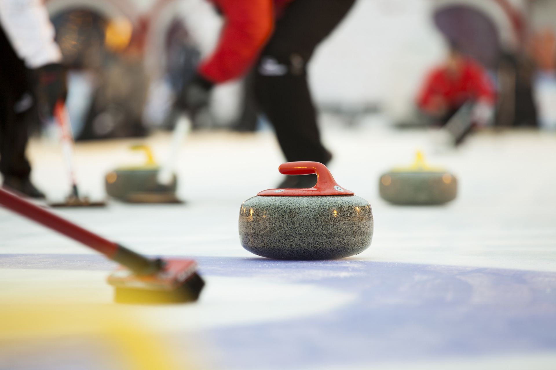 Winter fun curling