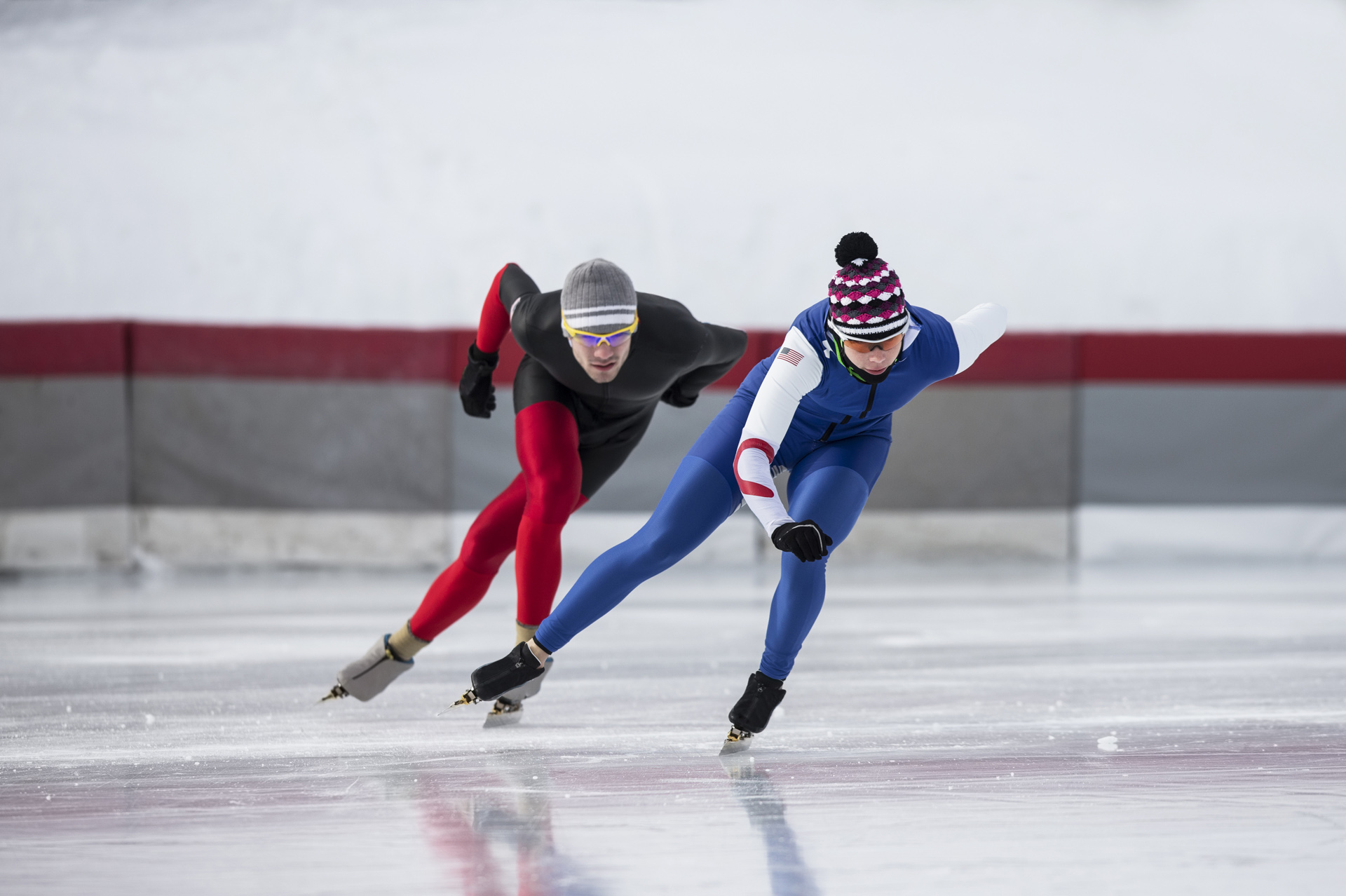 Winter fun schaatsen