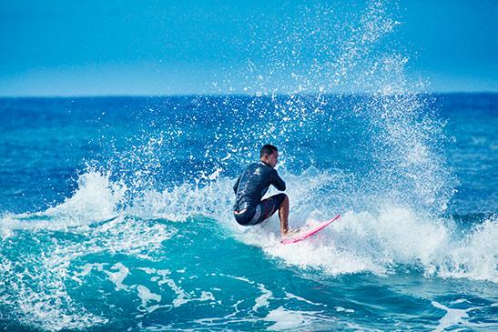 Actief uitje: surfen