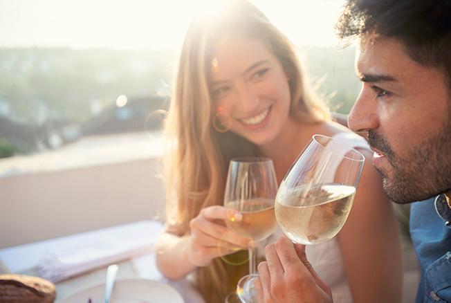 Wijnproeverij in de herfstvakantie