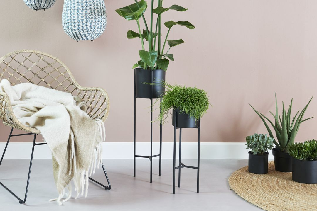 Set van 2 plantenbakken van VELYON (model: Porto)