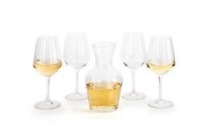 Karaf met 4 wijnglazen (serie: Juliette)