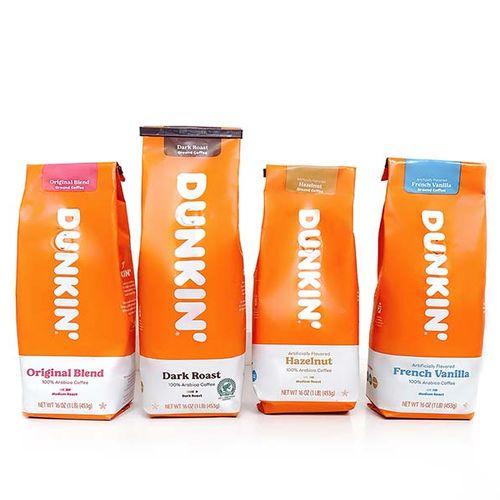 Gemalen koffie van Dunkin'