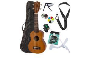 8-delige ukulele-set van Áengus
