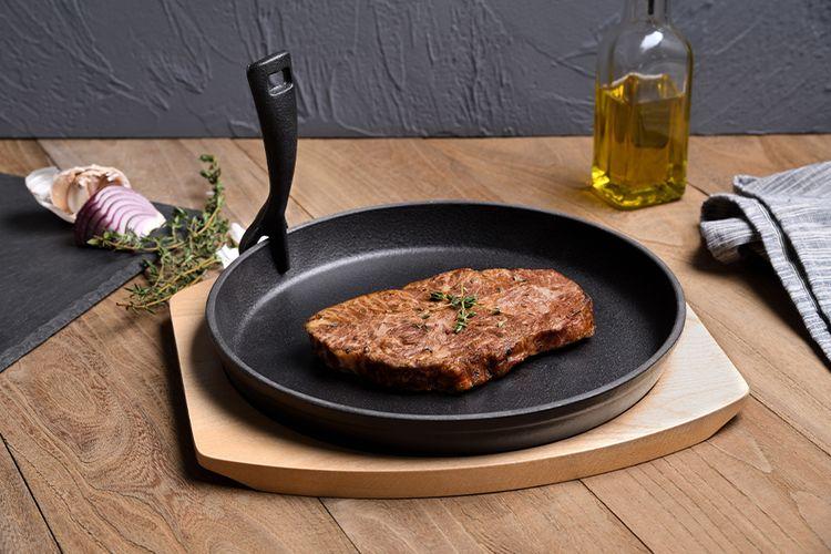 3-delige gietijzeren steak set (SG-5851)