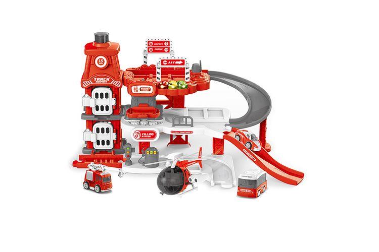 Brandweerman speelgoedset (36 stukjes)