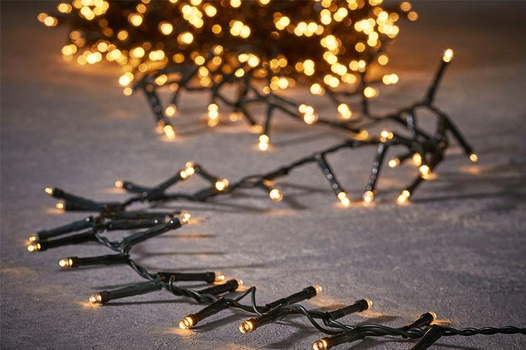 Kerstverlichting met timer en dimmer (14 meter)
