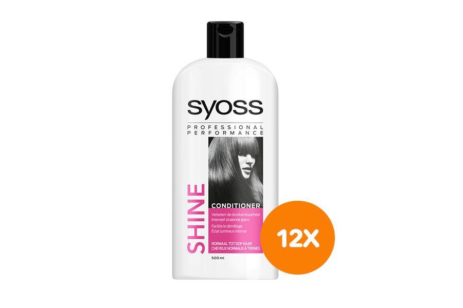 12 flessen conditioner van Syoss (500 ml)