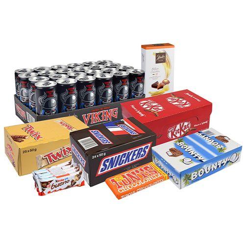 Snoep- en energiepakket van Butlon