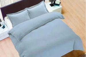 Parure de lit bleue (240 x 200 cm)