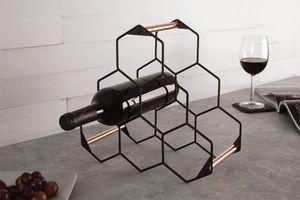 Wijnrek van Berlinger Haus (zwart / roségoud)